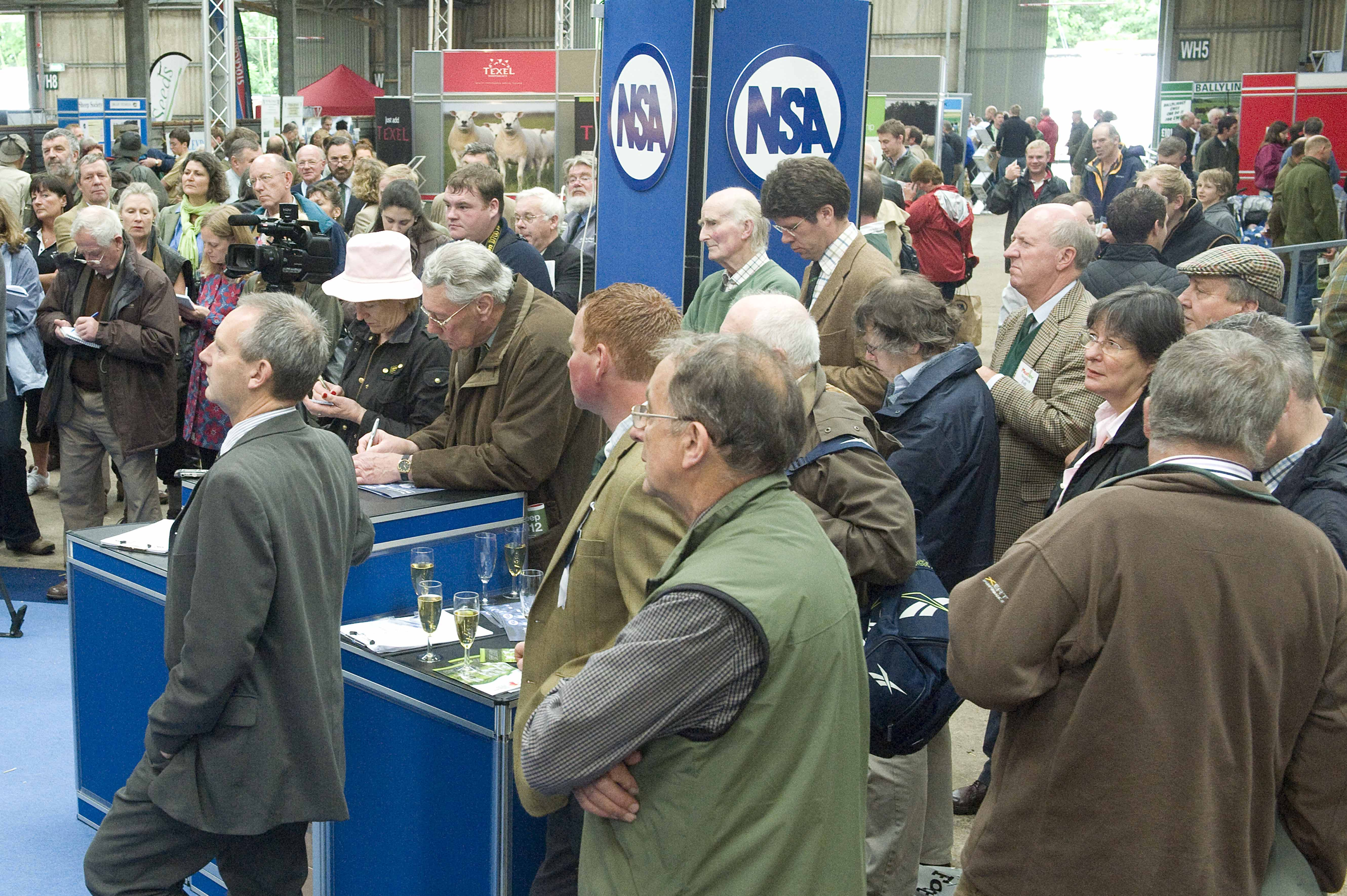 2012 NSA Sheep event visitor numbers were in excess of 11,000