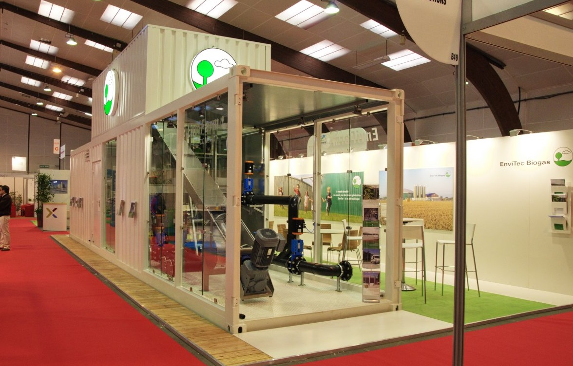 At Energy Now, EnviTec Biogas UK will be promoting its new AD compact unit, which delivers the company's renowned quality in a compact design.