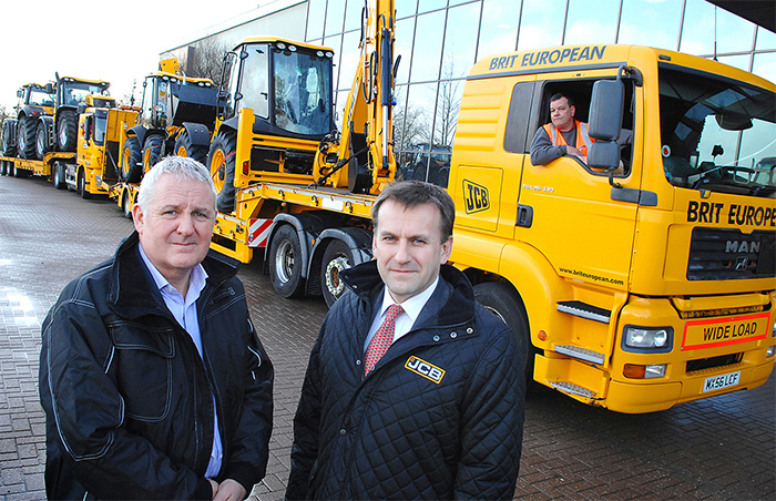 JCB loans £750,000 fleet of machines to flood zones