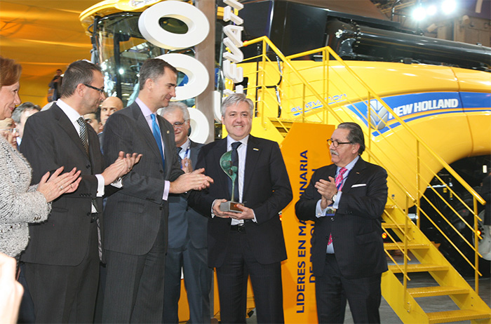 New Holland enjoys a triple success at FIMA awards