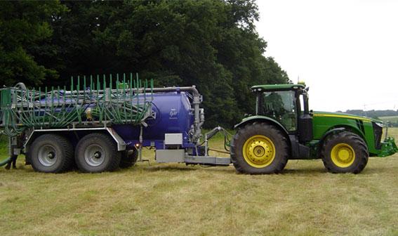 John Deer manure sensing system