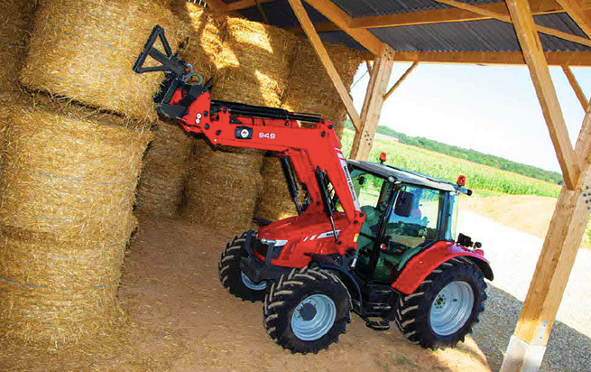 Massey Ferguson tractors scoop awards at machinery show