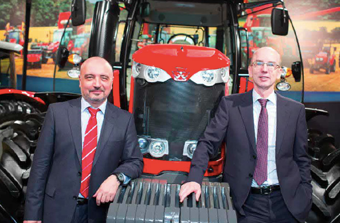 AGCO RM Senior management - Yury Zyabkin and Markus Schlosser