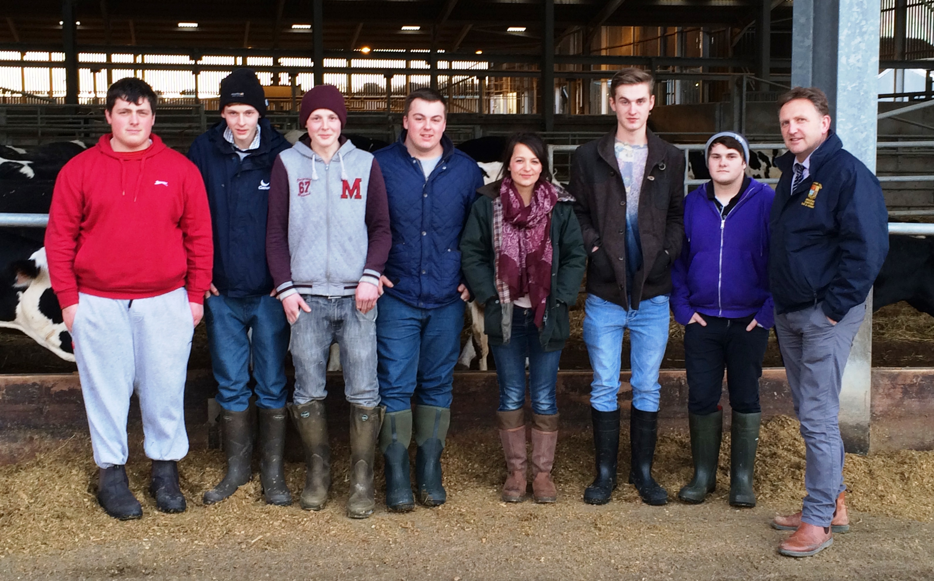 National Dairy Apprenticeship programme at Plumpton College
