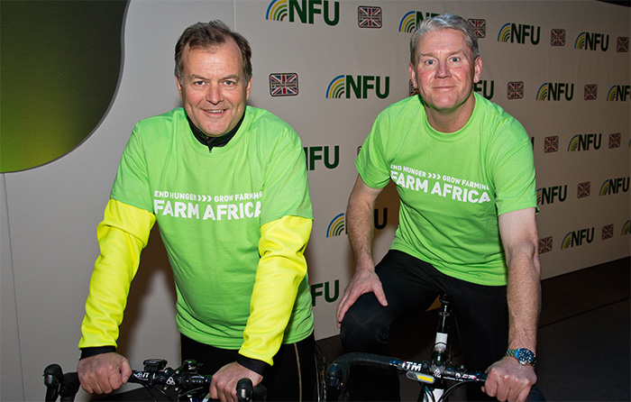 Kendall launches fundraising Farm Cycle Challenge