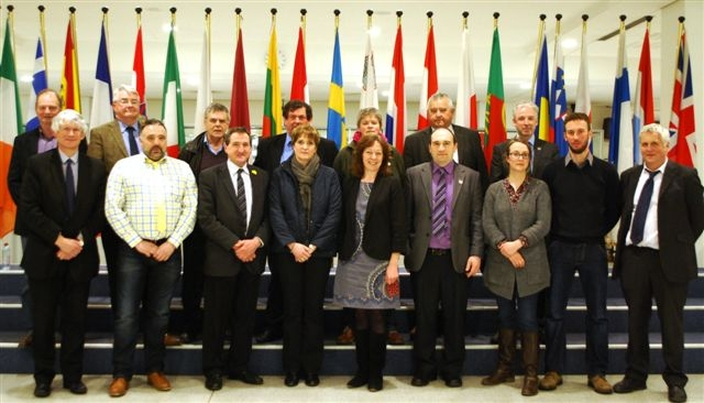 FUW delegation with Jill Evans MEP.