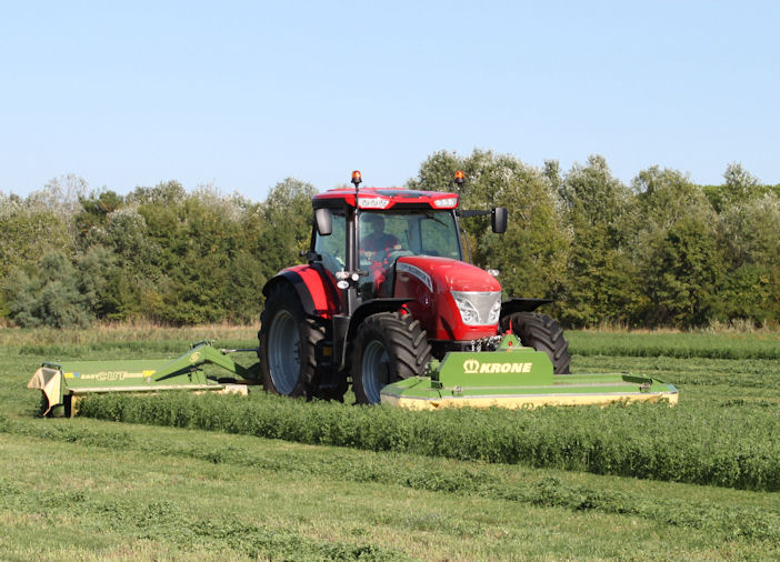 Main franchises at Severn Farm Machinery are McCormick and Krone.