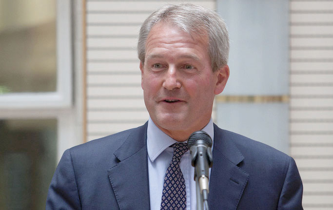 The Secretary of State for Environment, Food and Rural Affairs, Owen Paterson