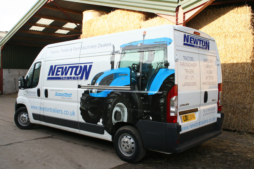 Landini dealer Newton Trailer Centre at Newton Reigny will maintain the tractor.