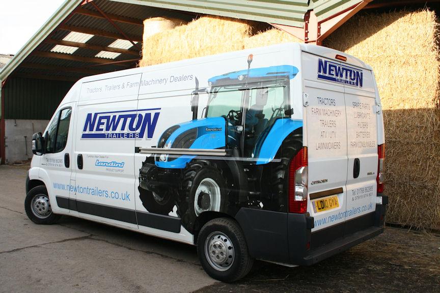 Landini dealer Newton Trailer Centre at Newton Reigny will maintain the tractor.
