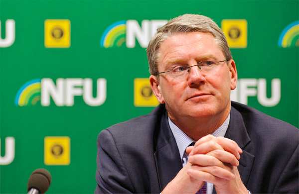 Kendall named new President of World Farmers Organisation