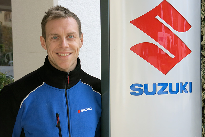 George Cheeseman - Sales and Marketing Manager, Suzuki ATV & Marine Division