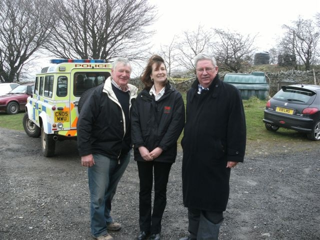 OWL 2: From left, Chris Lewis, Helen Thomas and Ian Johnson.