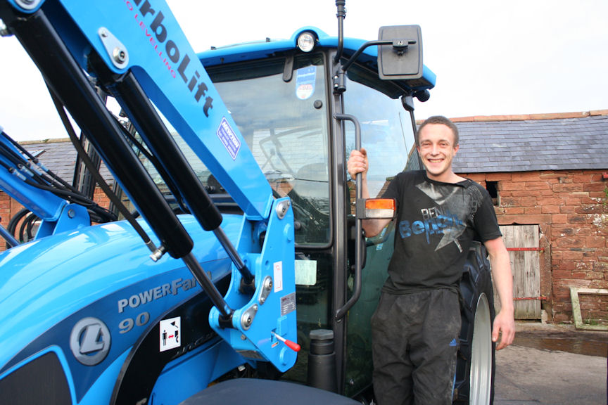 Will Hornsby likes the simplicity of the Landini Powerfarm, which has a reputation for being 'bulletproof' in the hands of a stock farmer.