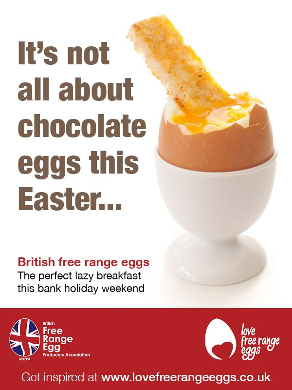 It's not all about chocolate eggs this Easter...