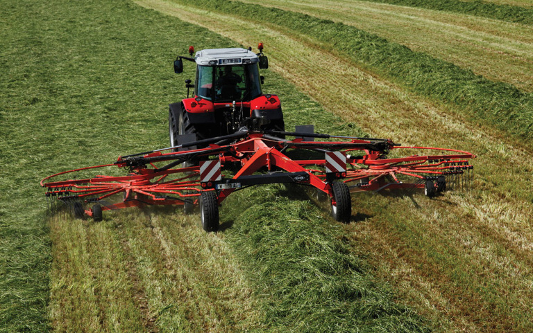 Kuhn to show new harvesting machinery at Grassland