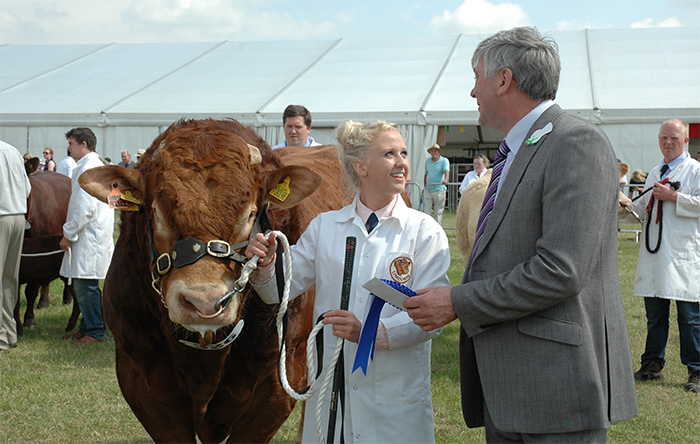 Farming at the heart of Cheshire County Show