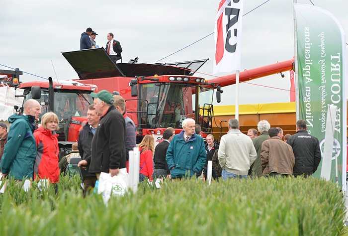 Abundance of new machinery at Cereals 2014