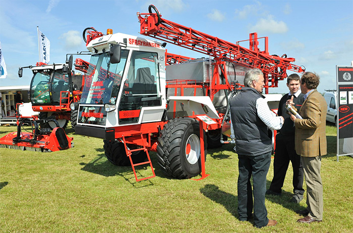 Spraying innovation to the fore at Cereals 2014