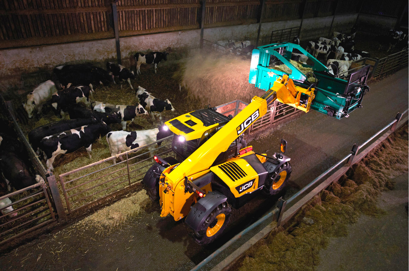 Fuel economy and productivity gains come from upgrades to Loadall telehandlers.