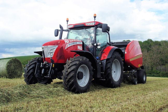 The new McCormick X7 Pro Drive tractors will have their first outing at a public working event on the Vicon demonstration plot at the Grassland & Muck Event.