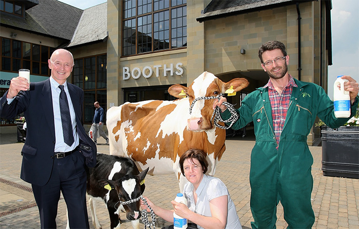 Booths pledges highest milk price for farmers