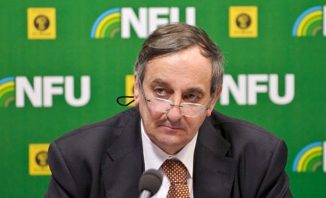NFU president Meurig Raymond
