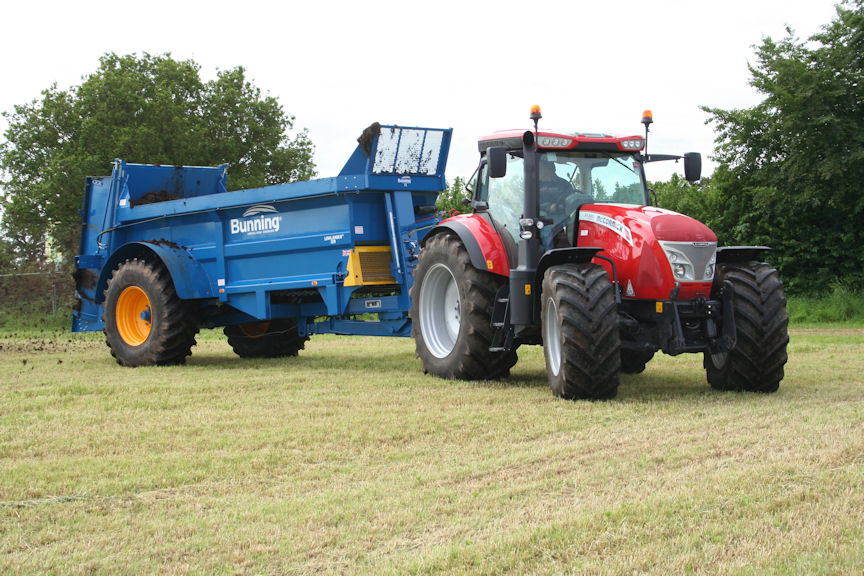 McCormick X7.680 Pro Drive is the flagship model with 188hp draft work output and 212hp for road travel and pto work.
