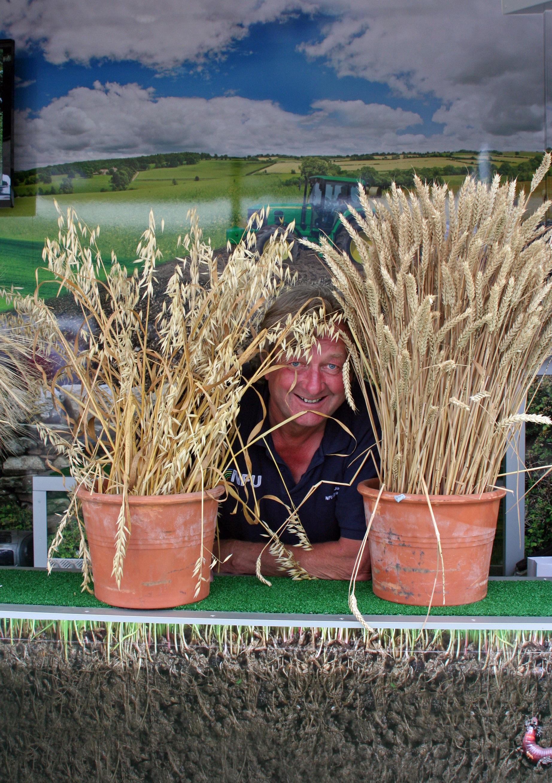 NFU roadshow farming presenter Johnny Ball