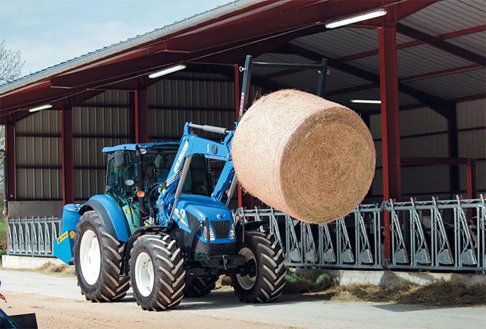 New Holland launches upgraded T4 tractor range at Cereals 2014