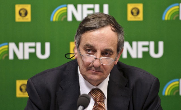 The President of the National Farmers' Union Meurig Raymond