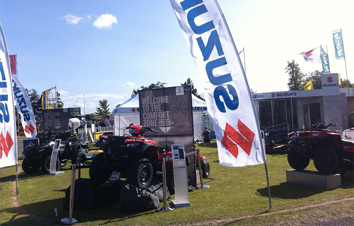 Suzuki gears up for the Royal Highland Show