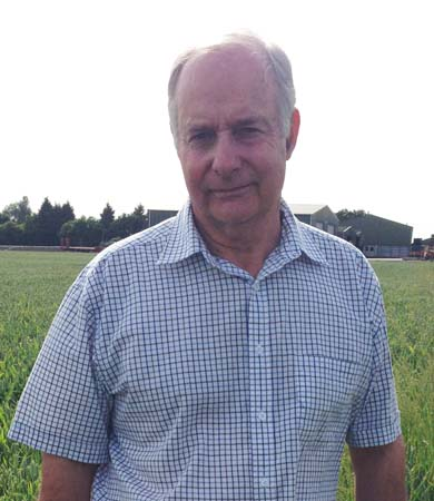 Jim Strathern, new chairman  of Anglian Turkey Association
