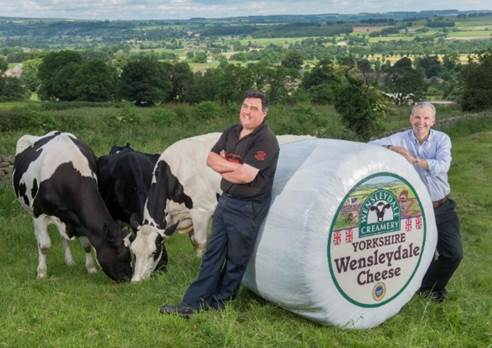 Wensleydale farmers celebrate Le Grand Fromage!