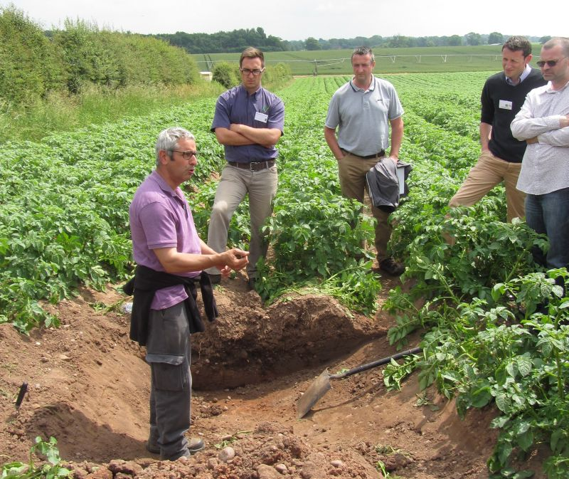 Shropshire potato producers host leading technical event