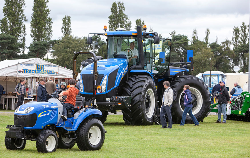 New Holland supports Blue Force 1000