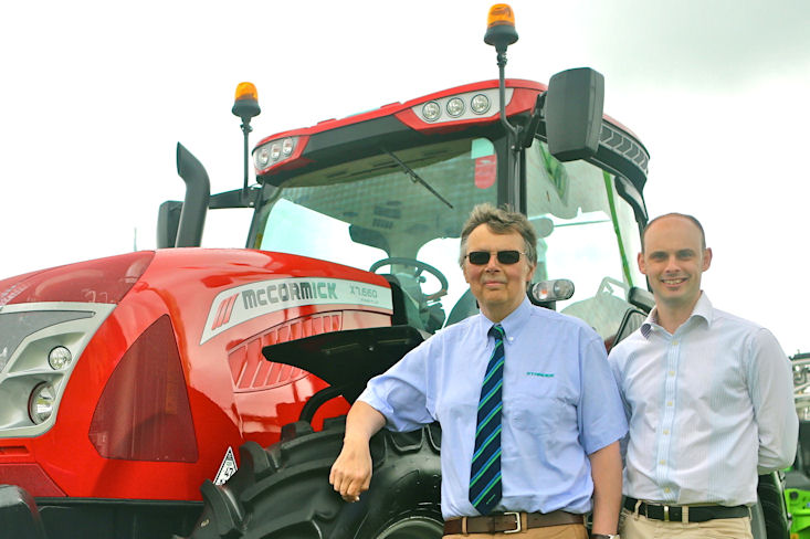 TRP chairman Roger Pearson (left) and managing director Jonathan Pearson chose McCormick over other franchise options for their Sleaford and Everton, near Doncaster, dealership branches.