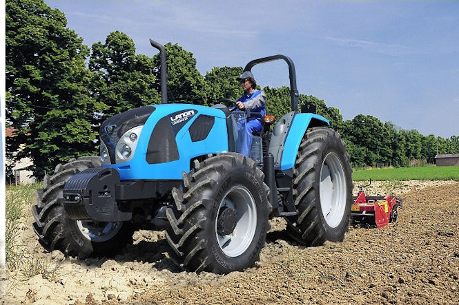 The Landini Landforce is a new open platform model available in certain export markets.
