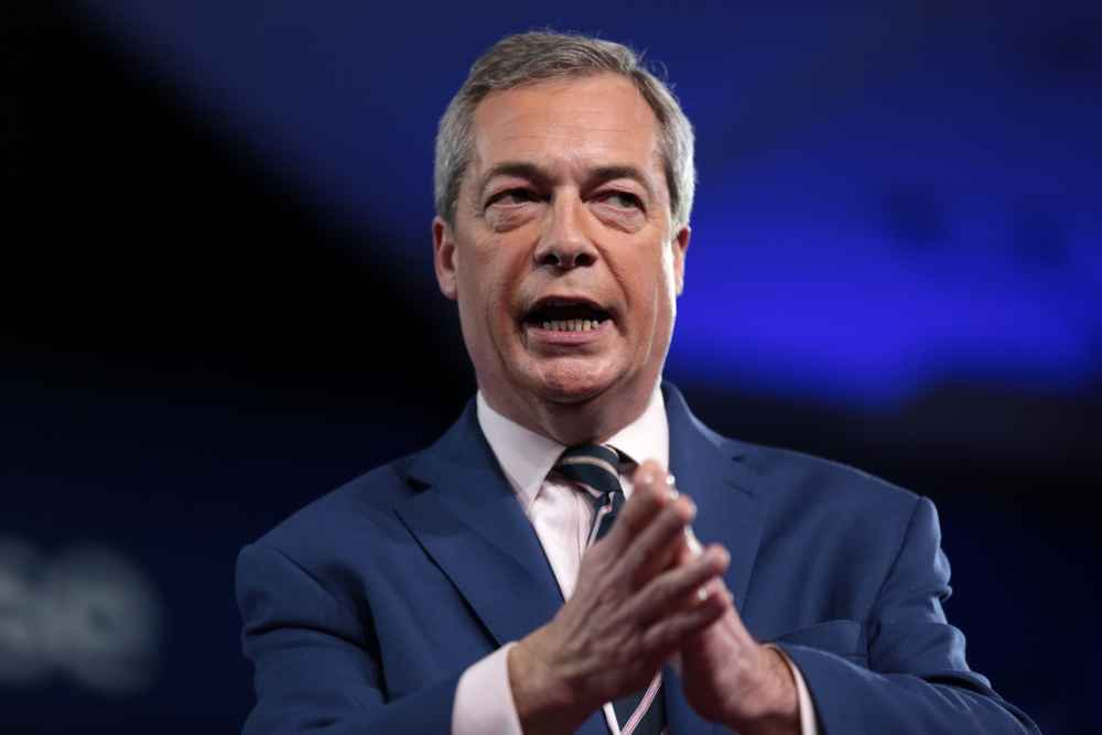 Farmers clash with Farage over CAP payments