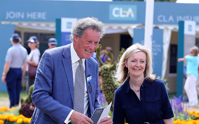 New Environment Secretary visits CLA Game Fair