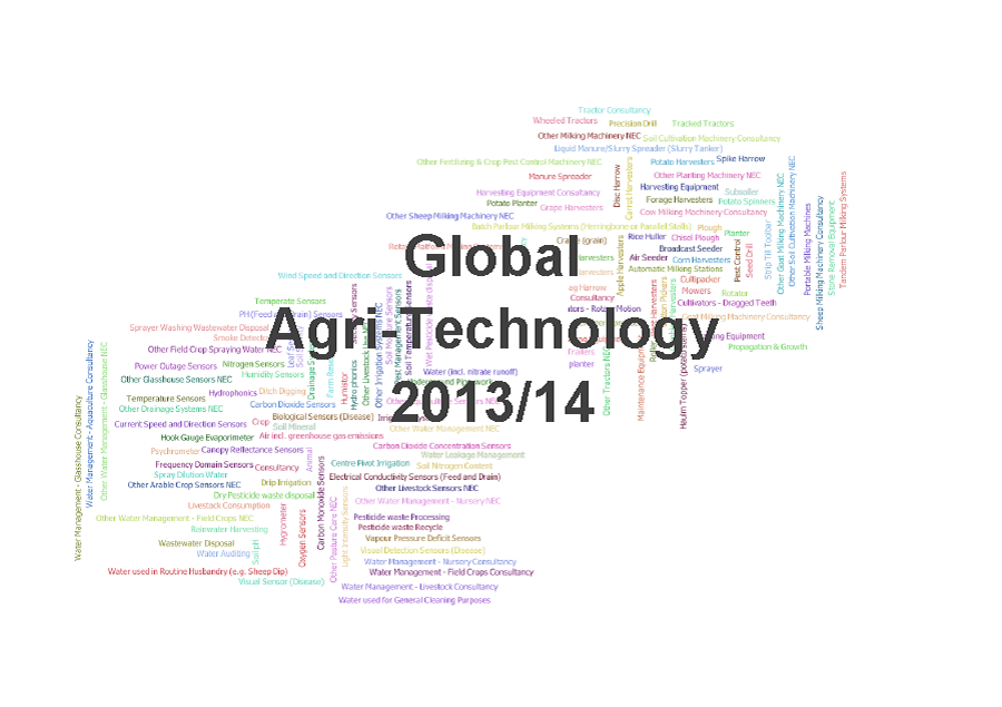 New Research Identifies Machinery as the Largest Global Agri-Tech Sector