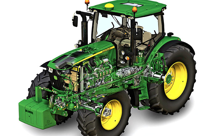 New John Deere tractor transmission wins IMMA