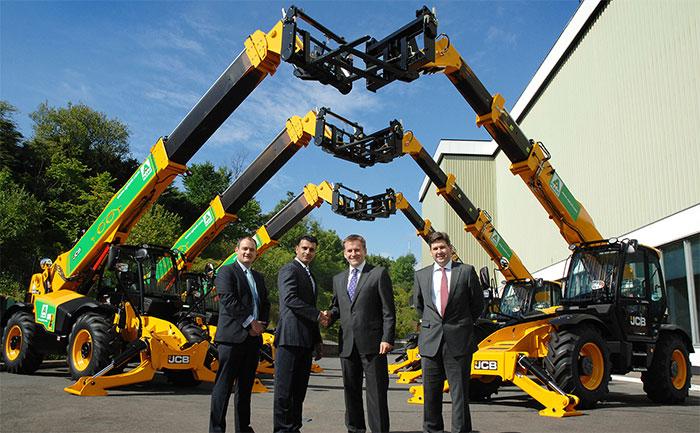 JCB secures machine deal as UK market grows