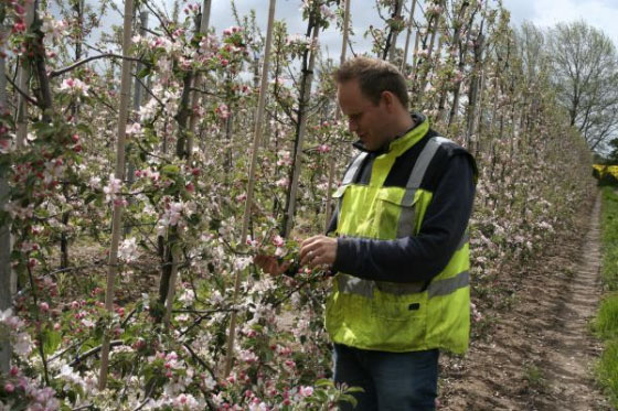 Peter Thompson is a third-generation fruit and vegetable grower on the Tendring Peninsula near Harwich