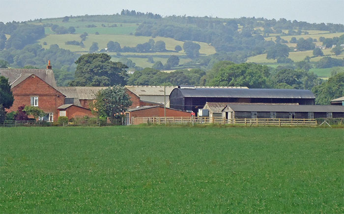 Former dairy farm up for auction with £2m price guide