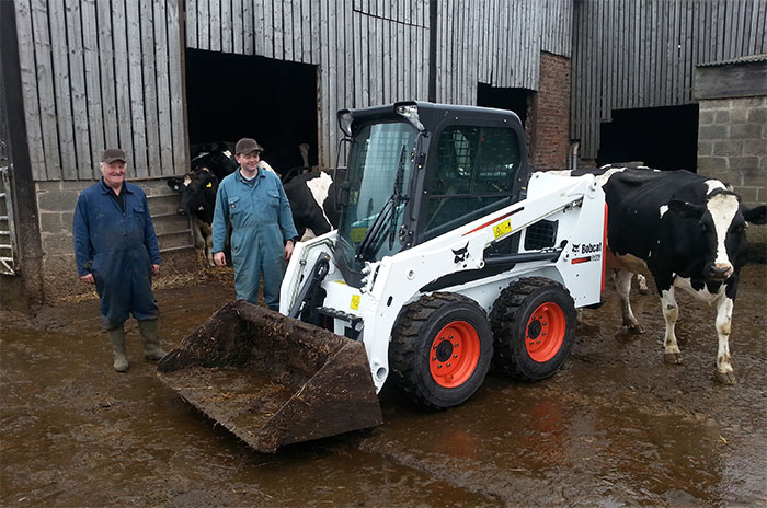 Sicey Farm purchases first Bobcat S450 Skid-steer Loader