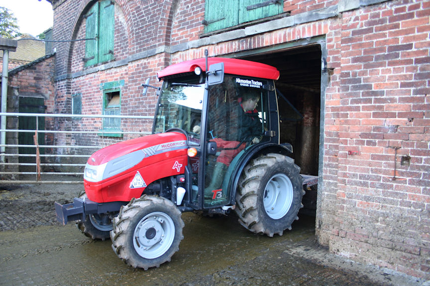 Muck scraping almost a pleasure with new McCormick tractor