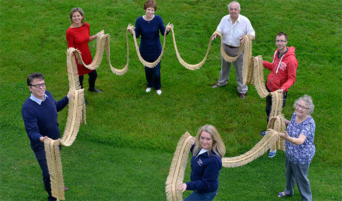 World's largest corn dolly measures over 65 feet