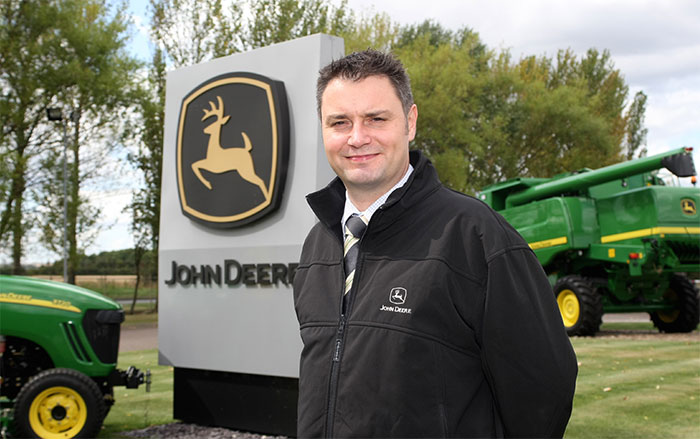 New marketing manager at John Deere