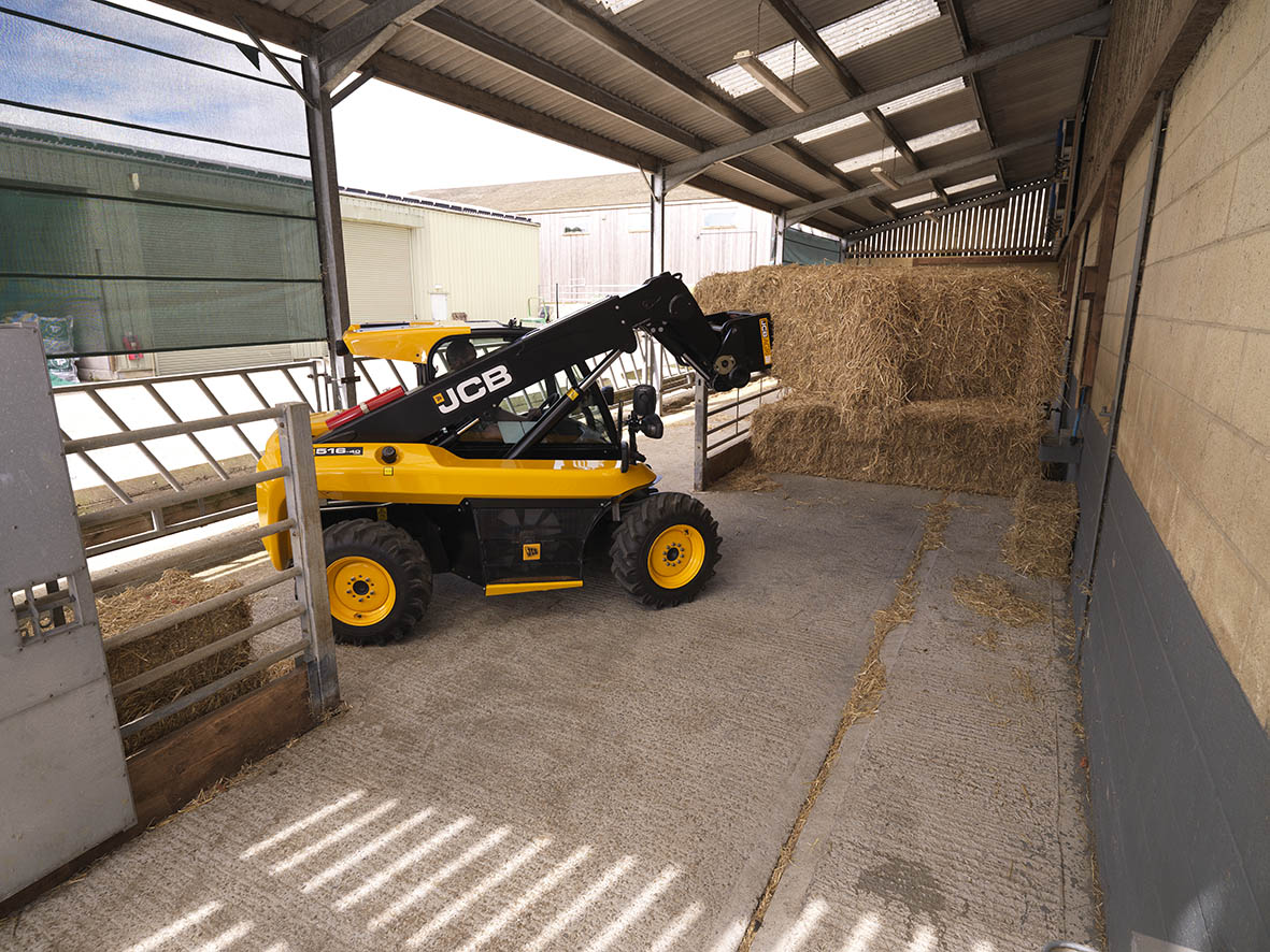 New JCB handlers feature at LAMMA show